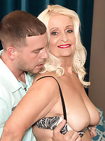 60 Plus MILFs - Her daughter just fucked this guy. Now Vikki's going to fuck him. - Vikki Vaughn (40 Photos)