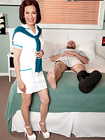 60 Plus MILFs - Nurse Kim heals the sick, fucks the giant hard-on - Kim Anh (47 Photos)