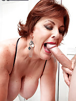 60 Plus MILFs - From bank teller to cum eater - Gabriella LaMay (41 Photos)