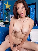 60 Plus MILFs - Our First Asian GILF Takes It Up The Ass! - Kim Anh (70 Photos)