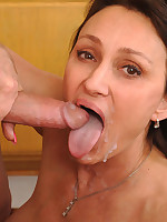 Anilos.com - Freshest mature women on the net featuring Anilos Jillian Foxxx facial mature